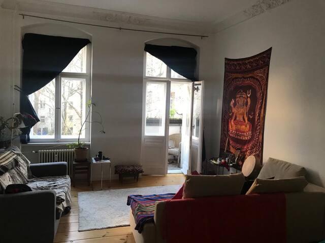 Peaceful 2-room-appartment in Schöneberg