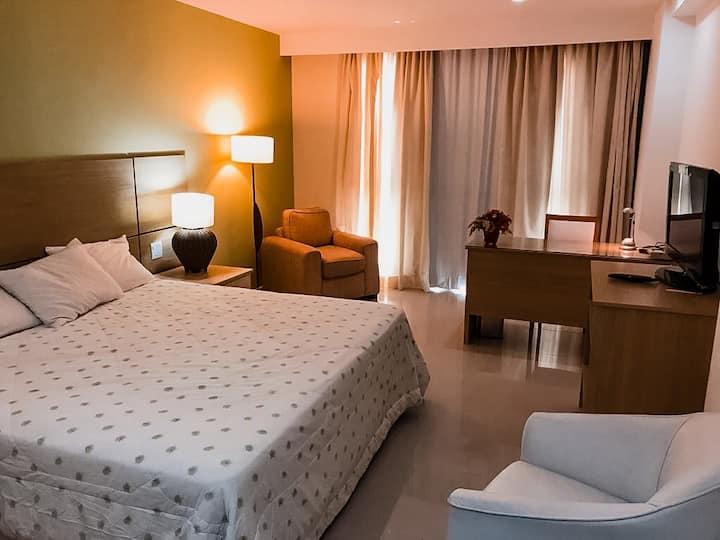Flat de luxo em Hotel 5 estrelas - Macaé