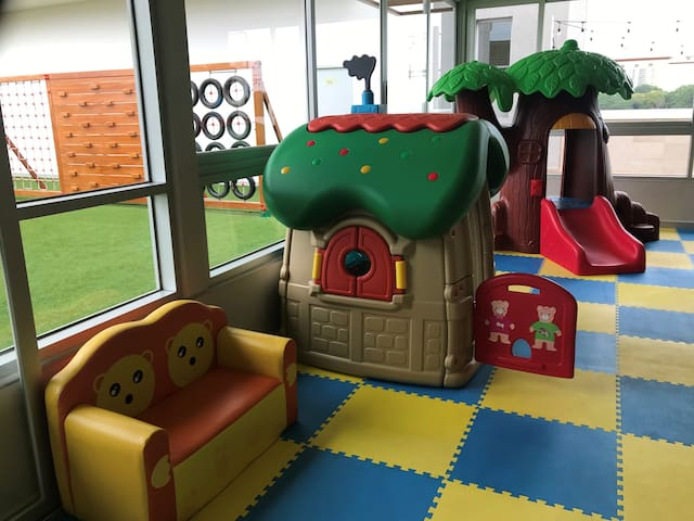 Kids indoor play area
