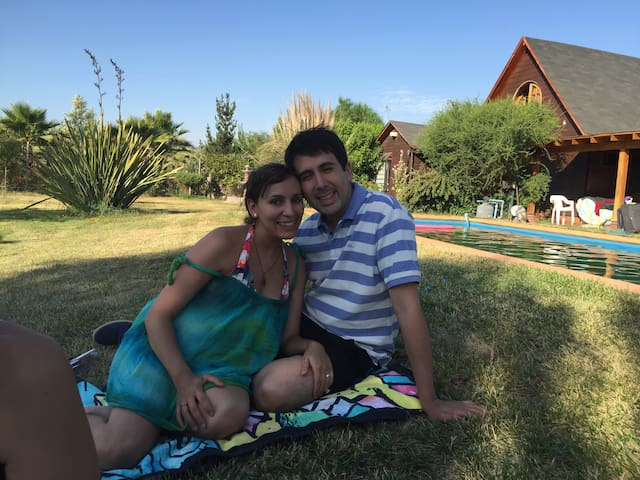 Agradable casa campestre en Batuco - Santiago - Hus