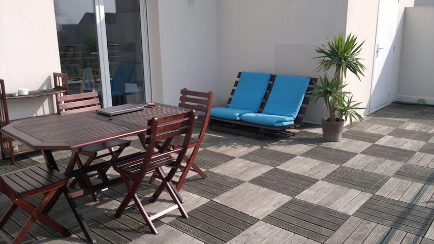 Chambre dans appartement - Nantes - Departamento