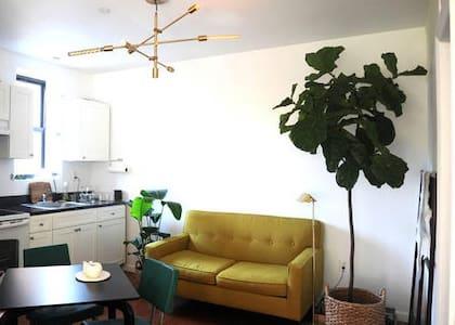 Cozy & sunny bedroom in SOHO - New York