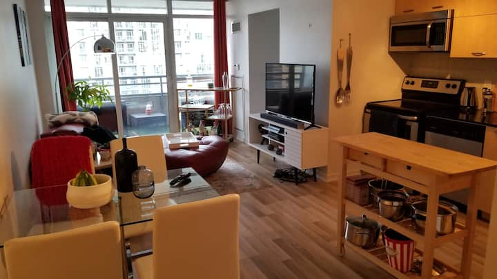 Two bed condo near Queen West and Liberty Village