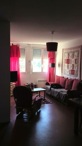 appartement confortable avec piscine toute l'année - Saint-Laurent-en-Grandvaux - Lägenhet
