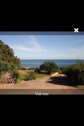 Villa pied dans l eau mer à 100 m - Conca - Dom