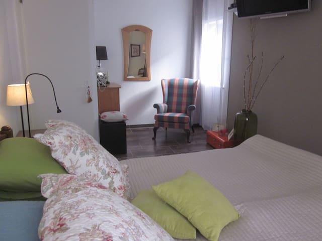 Spacieuse et confortable chambre - Martigny