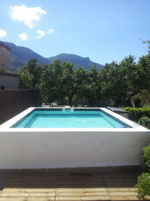 Pool ( 4 x 4 x 1 m)