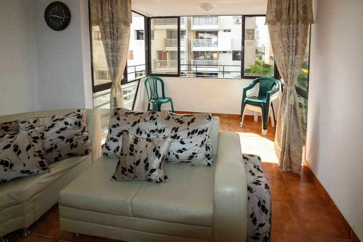 Apartamento con balcòn 403COP - Santa MArta - Wohnung
