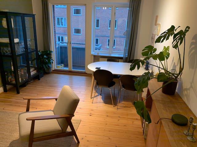 Cosy 2 room apartment in the heart of Copenhagen