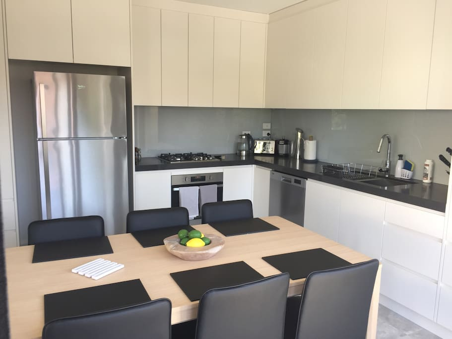 shared fully equiped kitchen