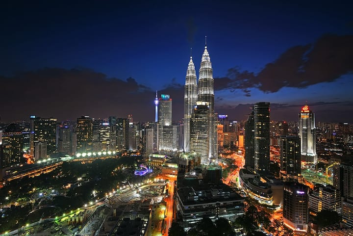 spectacular view,central Comfy Artist Home in KL