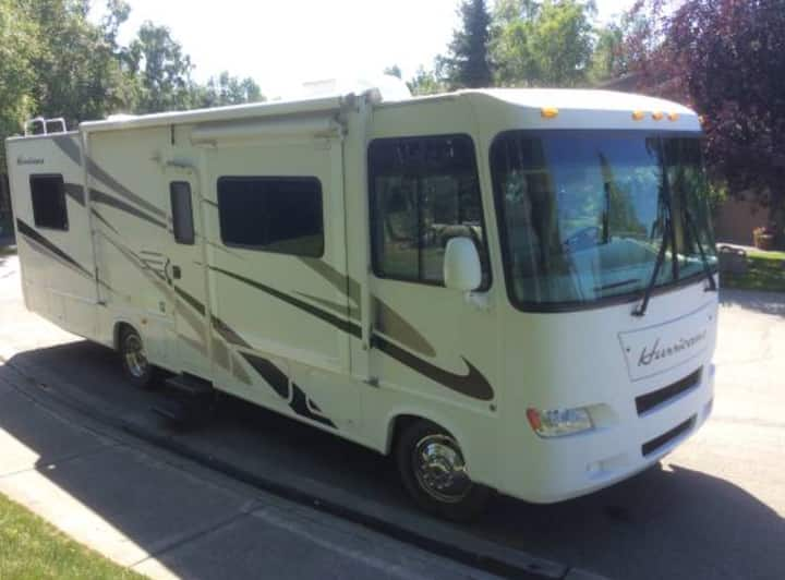 Class A PARKED RV where you'd like!