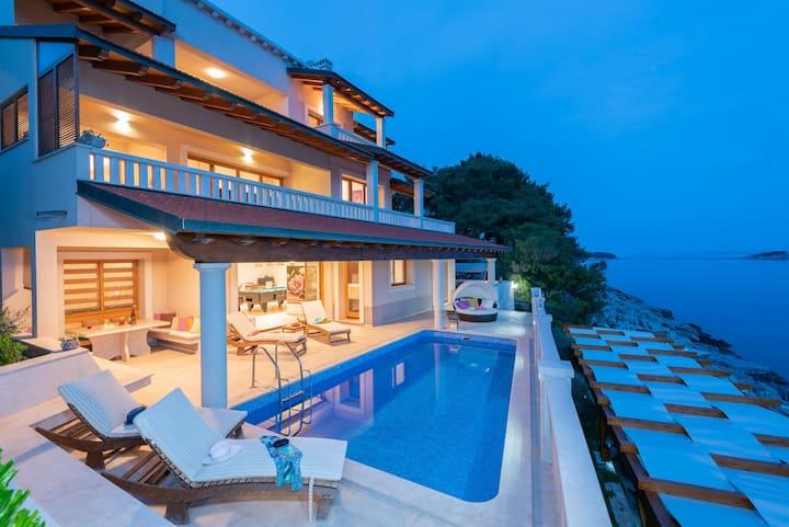 Villa Korkyra on Korčula Island