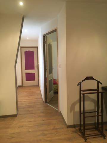 Chambre + salle de bain privée - Billy-Montigny - Townhouse