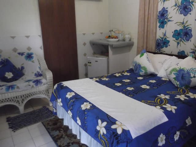 The blue studio at Atupa Orchids - Avarua District - Bungalow
