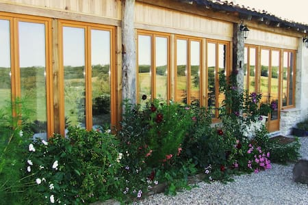 Le Petit Fournil, lovely cottage in the country! - Duras - Hus