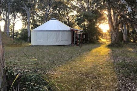 Beyond Language Retreat Yurt