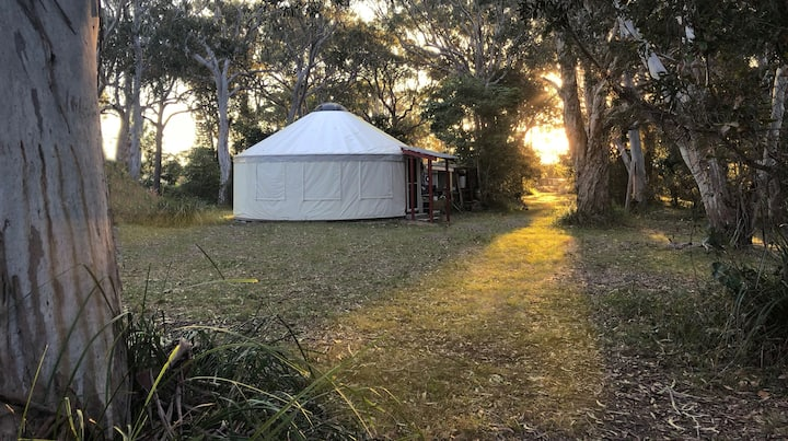 Beyond Language Retreat Yurt