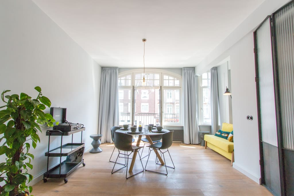 Design apartment 4sleep with outside terrace for Affitto bici amsterdam