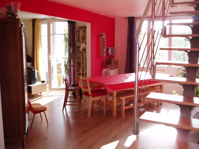 Grand logement proche Paris Versailles Giverny - Bougival - Wohnung