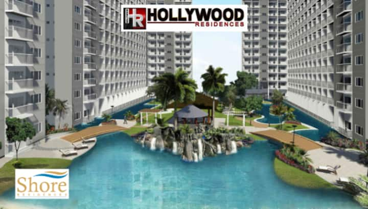1 BR fully furnished condo @Shore across MOA- 1246