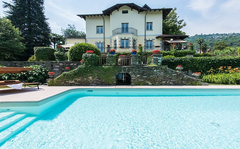 Villa Angela -Wonderful in Stresa Lake Maggiore
