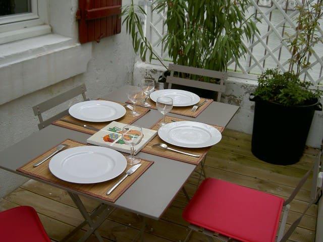 Appartement T3 calme avec patio