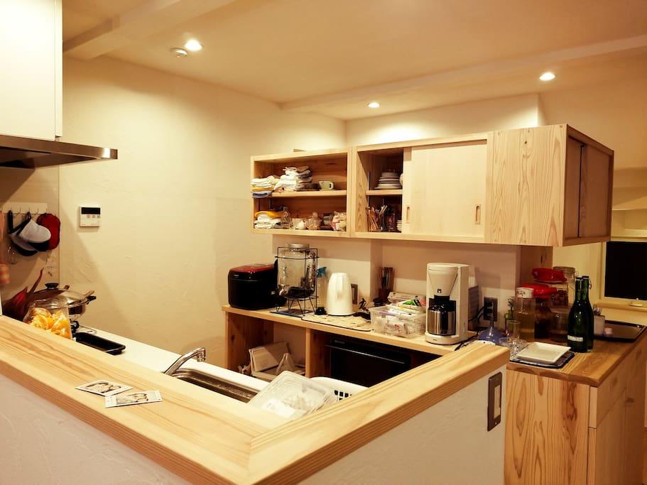 2F kitchen now:現在の台所