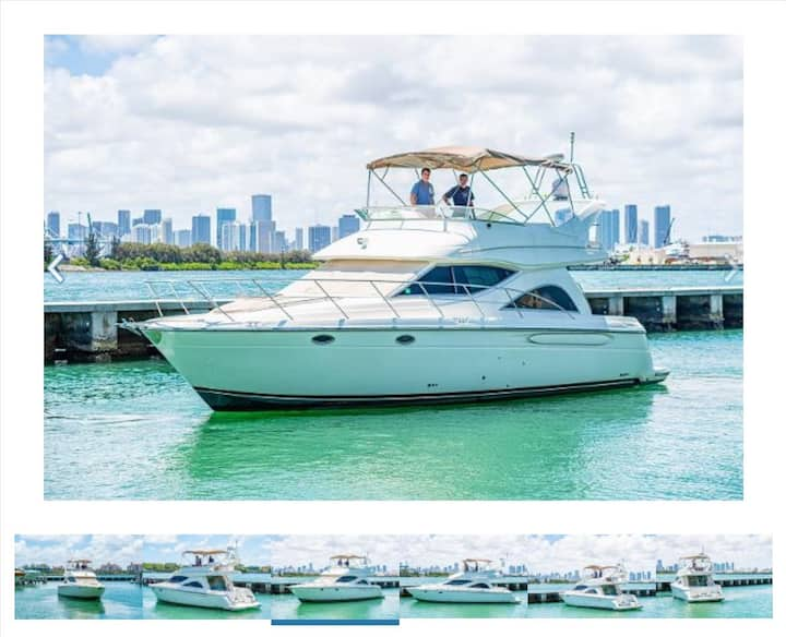 Full day charter on captained yacht in fort Myers