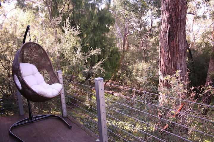Hang out in our stunning bushland location