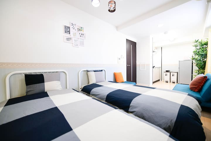 5min Namba, Designers/Clean and convenient house