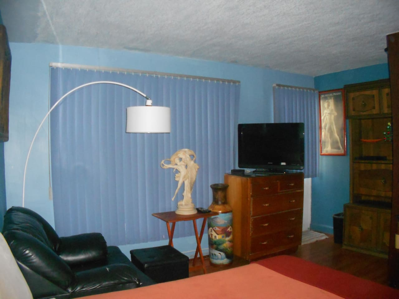 Vista del cuarto