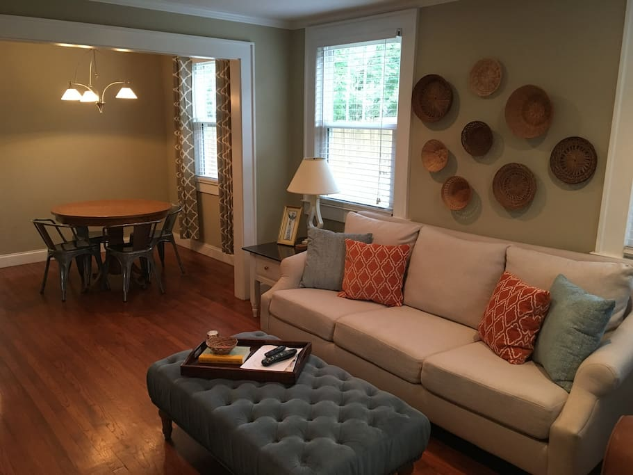 Family room and Dining table