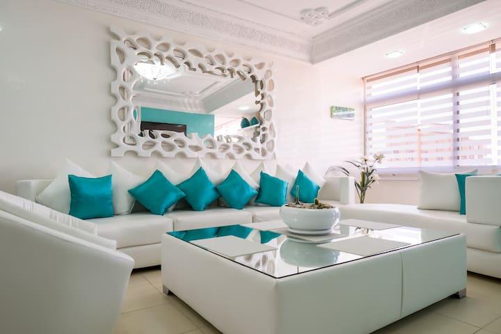 Appartement sur 2 étages design