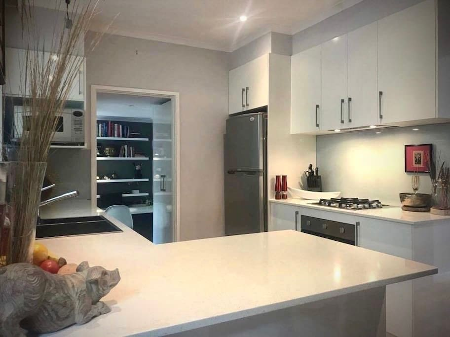 continental breakfast provided in your spacious new kitchen