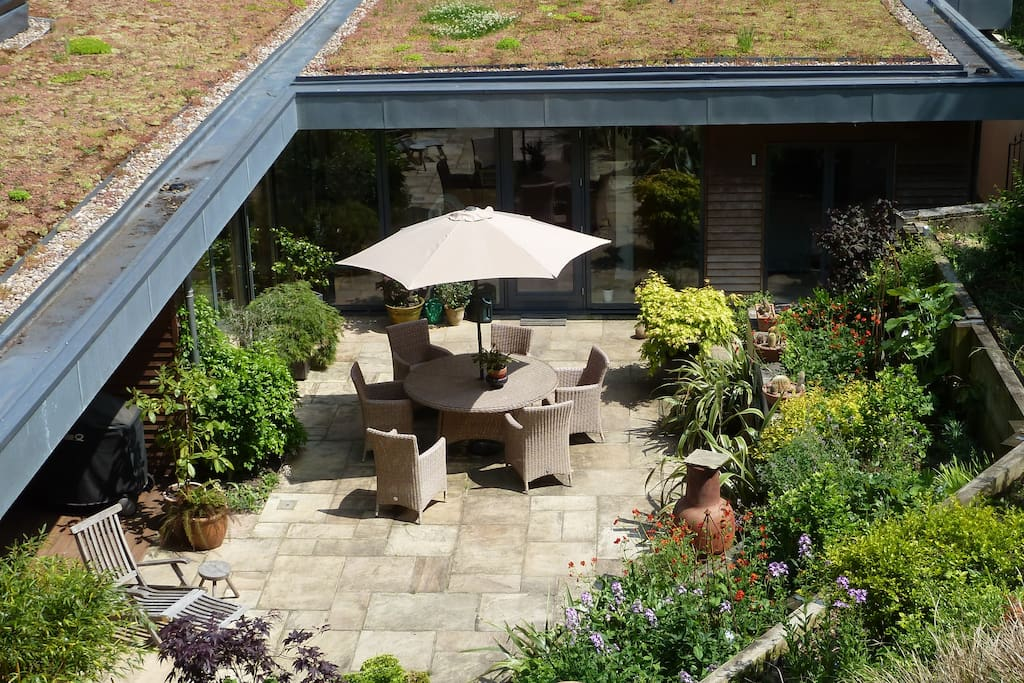 Enjoy our courtyard garden