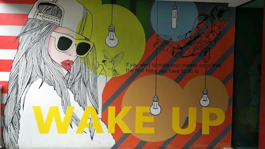 Deluxe room Wakeup Aonang