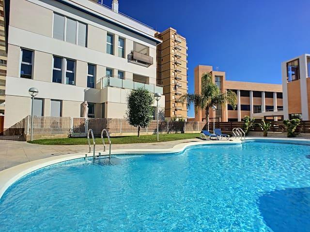 1 ª planta, balcó, wifi, estacionament, piscina