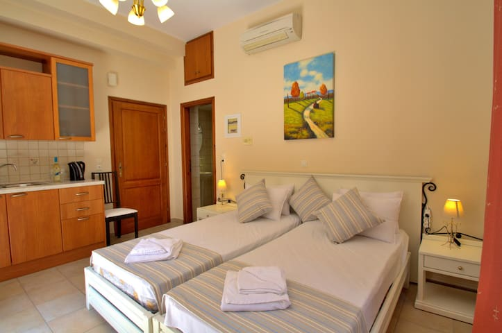 Studio in Rethymno Old Town,Next to the Beach - Réthimno - Pis