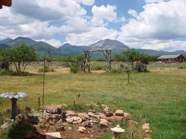 Garden Room in Mt. Peale Lodge (Near Moab, UT)