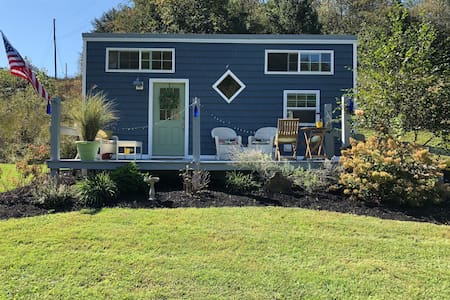 Big Blue Tiny House
