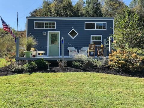 Big Blue Tiny House