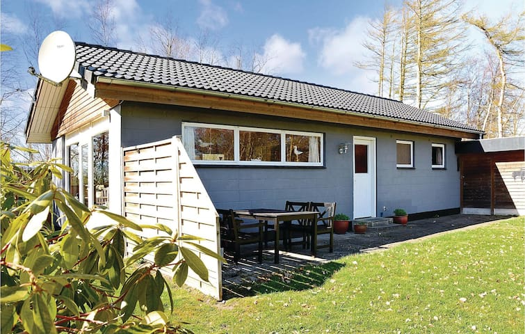 Holiday cottage with 3 bedrooms on 70 m² in Roslev