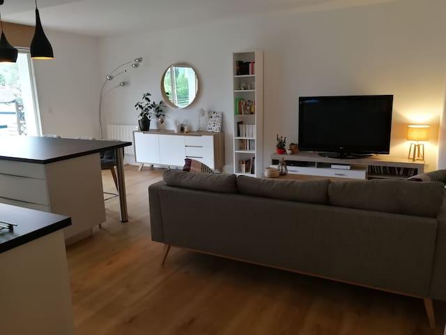 Appartement au pied des montagnes Basques