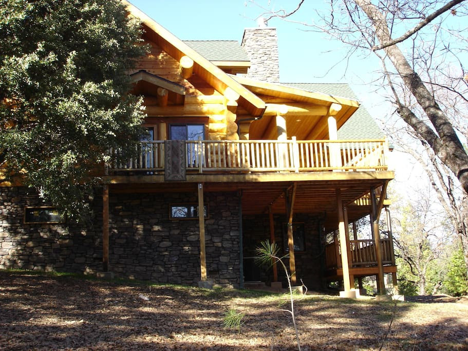 Moosehead lodge bass lake feb special 150 off for Airbnb cabins california