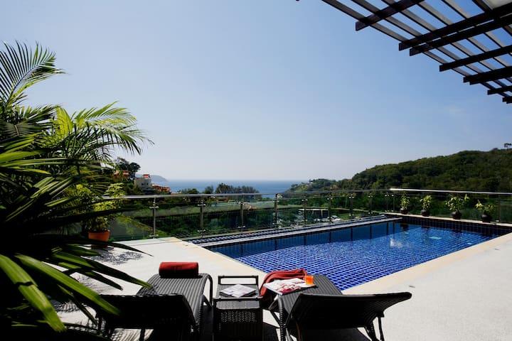 Phuket Kamala, Seaview, Private pool, 3 BR