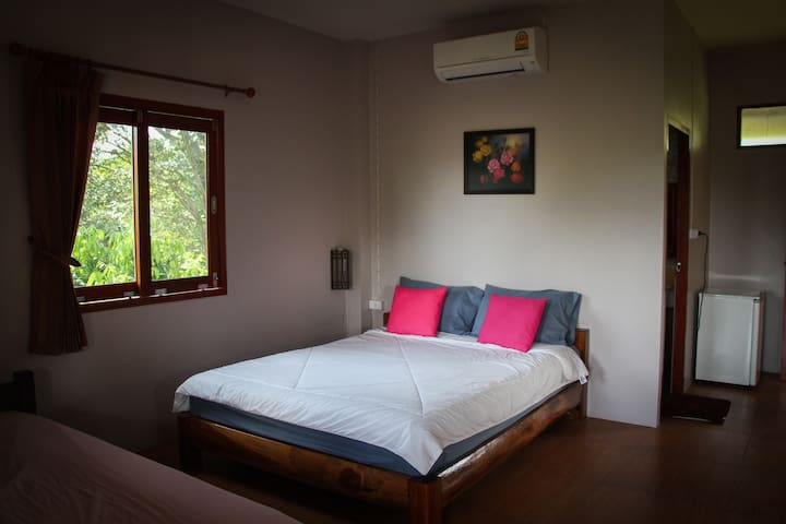 Air Conditioned Room - 2 people - Mae Hong Son - Apartemen