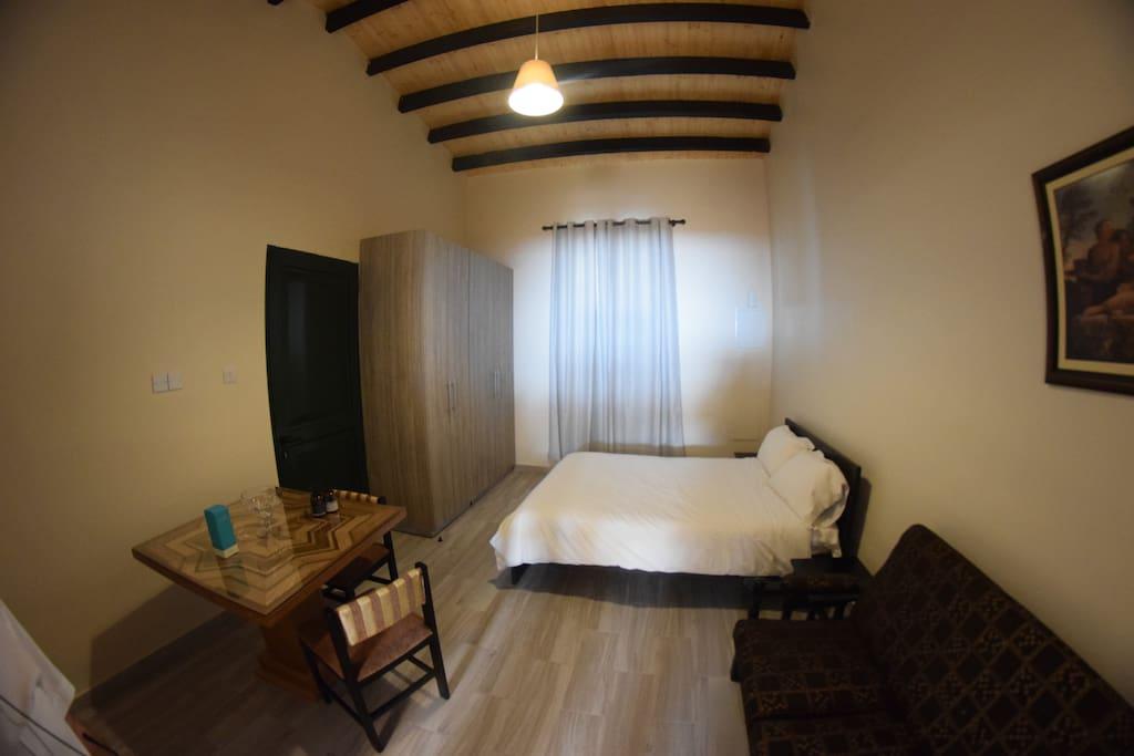 House 1 Bedroom/Sitting Room