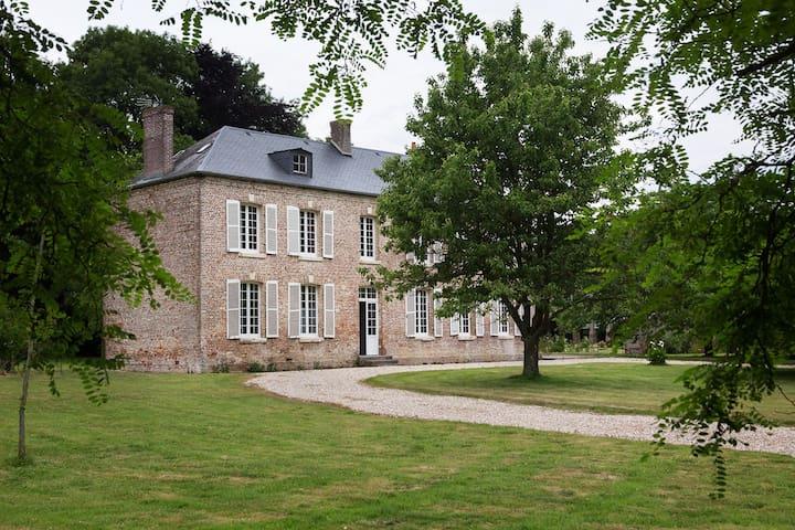 Manoir de Zalleux - Aigneville - Hus