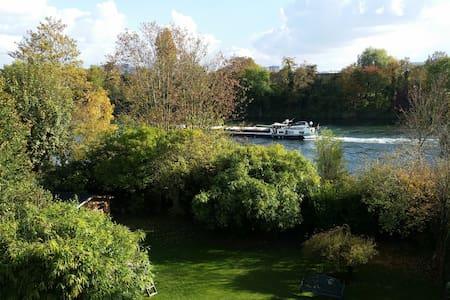 River Seine Residence - family suite Monnet - Carrières-sur-Seine - Lejlighed